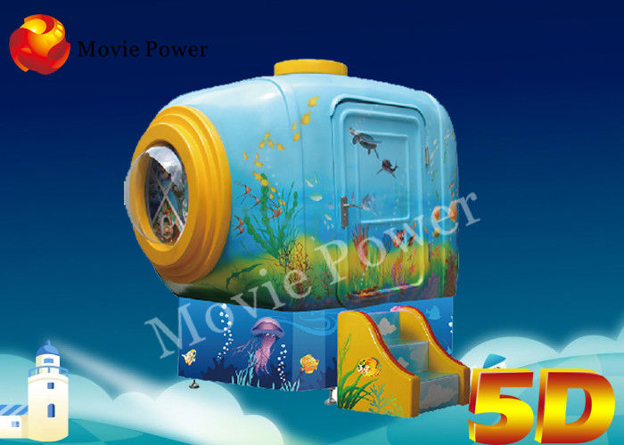 Forward / Backward 2 Seats 5D Cinema System With Electric System