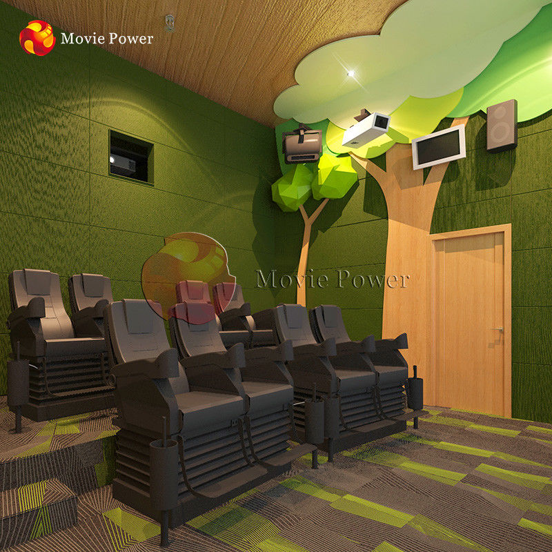 Forest Theme Interactive 4d Motion Theater 20-200 صندلی ظرفیت